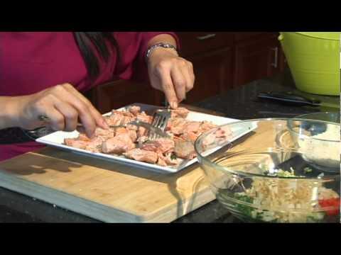 Bánh Cá Salmon