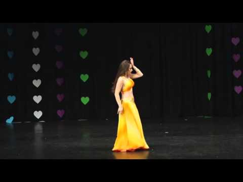 Dragana Trivuncevic 1st Place At Oriental Love