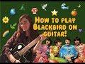 learn how to play blackbird on guitar! | sundays with McCaa 🌼🌈