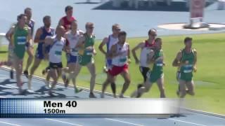 Brona Khyr - MS Perth 2016, M40 1500m