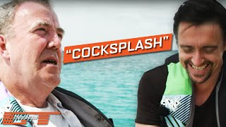 In a behind the scenes clip from The Grand Tour, Jeremy Clarkson and Richard Hammond discuss a discovery in Barbados - a rum with a colourful name. Watch The...