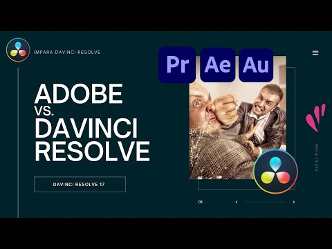 Adobe vs. Davinci Resolve