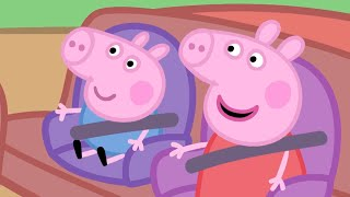 Peppa Pig Official Channel | Peppa Pig's Car Compilation