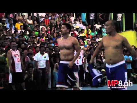 Manny Pacquiao - Philippine Celebrity Basketball Fun!