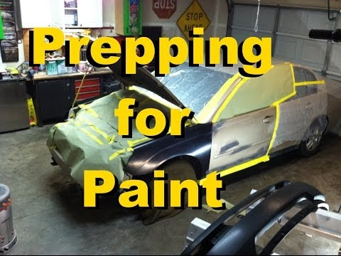 Work From Home Flipping Used Cars | Malibu #3 | Prepping for Paint