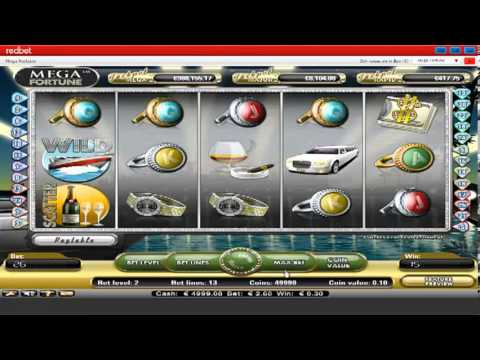 Mega Fortune Video Slots at Redbet Casino