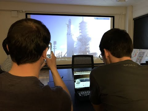 Georgia Tech Reacts to SpaceX Falcon Heavy Launch