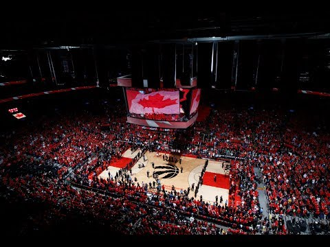 Scotiabank Arena Joins Doug Tranquada In Singing Of Canadian National Anthem | 2019 NBA Finals