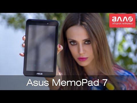 Видео-обзор планшета Asus Memo Pad 7(ME170C)