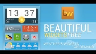Beautiful Widgets Pro YouTube video
