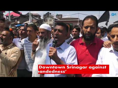 Shutdown in Downtown Srinagar against 'police high-handedness'