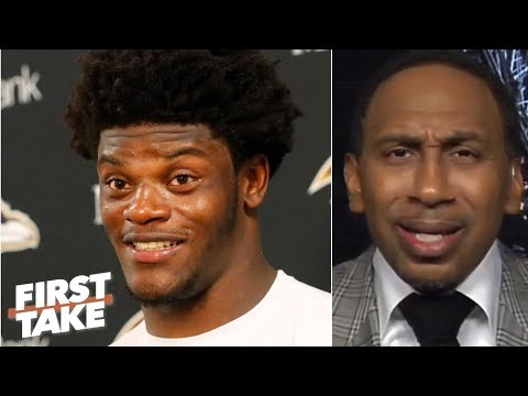 Video: Lamar Jackson has to prove himself against Patrick Mahomes - Stephen A. | First Take
