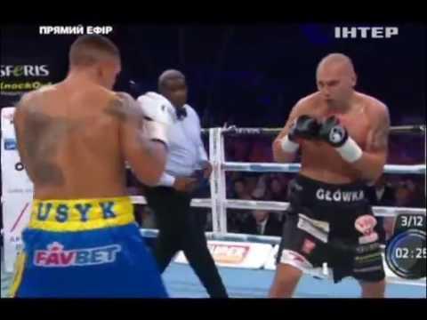 Усик переміг Гловацьки і став чемпіоном світу (відео бою)