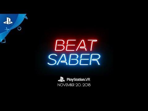 Trailer pour l'annonce de la sortie sur PlayStation VR de Beat Saber