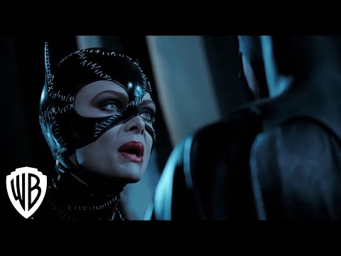 Batman Returns | Catwoman Fights Batman Scene | Warner Bros. Entertainment