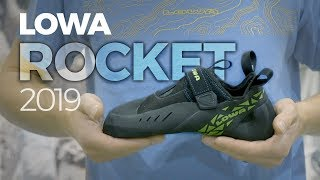 Lowa Rocket and Rocket Lace climbing shoe updates - 2019 by WeighMyRack