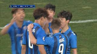 Video Ulsan Hyundai 2-1 Kawasaki Frontale (AFC Champions League 2018: Group Stage) MP3, 3GP, MP4, WEBM, AVI, FLV November 2018
