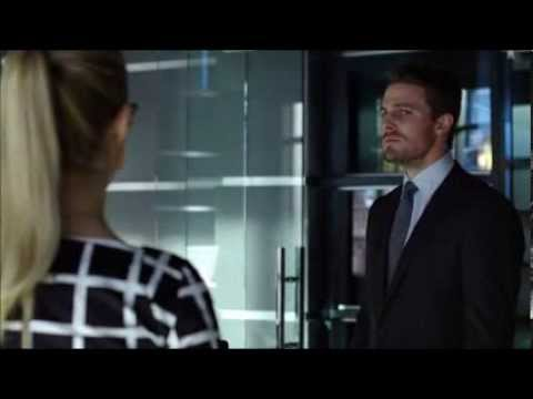 Arrow 2x08 Olicity - Oliver's overreaction about Barry