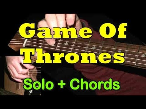"""Game Of Thrones"" - Easy Guitar Solo/Chords + TAB By GuitarNick"
