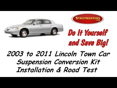 1997 Town Car Front And Rear Air Conversion By Strutmasters