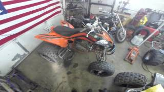 8. New Yamaha Raptor 250 SE Project