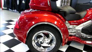 5. 2013 Gold Wing Trike - Candy Red - California Side Car - Viper - Niehaus Cycle