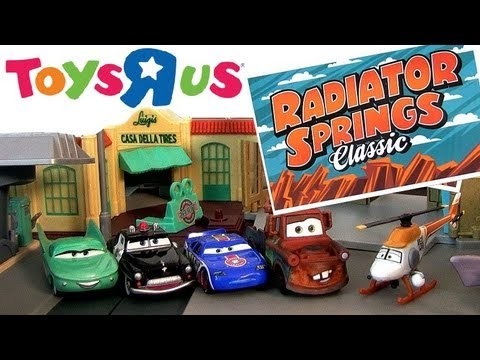 Cars 2 lift and launch mack truck r transporter playset 2013