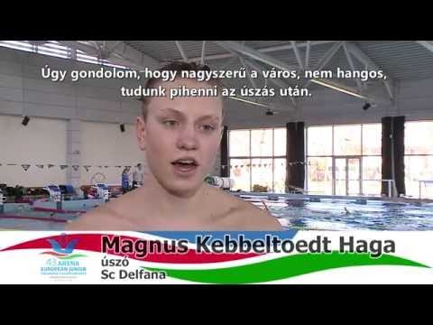 The Norwegian team are preparing for the European Swimming Championship in Hódmezővárhely