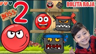La Bolita Roja en el Bosque 2   Juego para niños Red Ball 4   Juegos Infantiles para niños