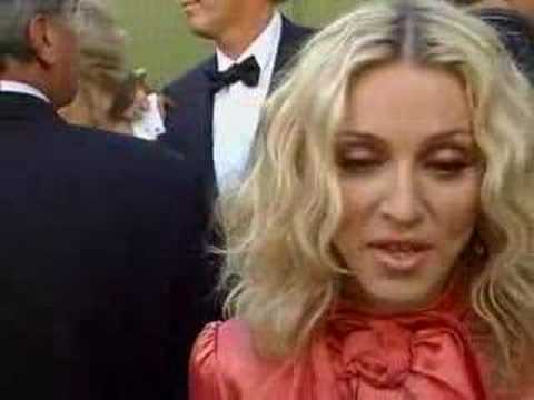 Madonna auction Video