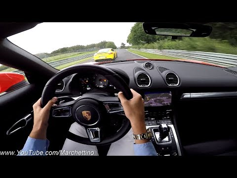 Racing a Porsche to the Limit at the Nürburgring + GoPro FAIL