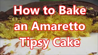 How to bake a cake with Amaretto & Brandy by Louisiana Cajun Recipes