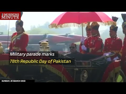 Military parade marks 78th Republic Day of Pakistan