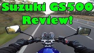 8. Suzuki GS500 Ride & Review!