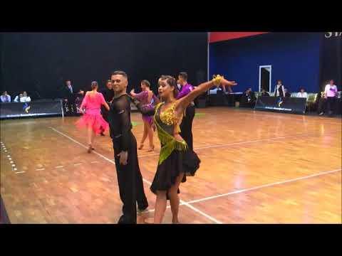 Cha-Cha. Ukrainian Championship 10 dances. New generation.