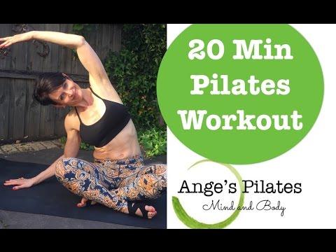 Pilates Intermediate 20 Minute Workout