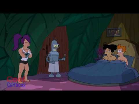 Futurama - Fry Caught in bed with Amy