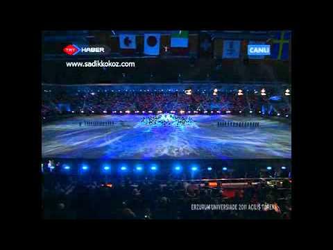 Anadolu Ateşi Universiade 2011 Erzurum Kış Oyunları Açılış Gösterileri 3. Bölüm İzle