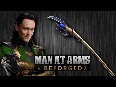 Chitauri Scepter AKA Loki s Staff The Avengers  MAN AT ARMS