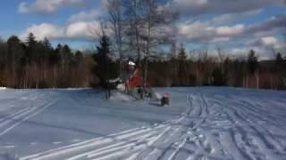 6. 2009 yamaha phazer GT snowmobile jump