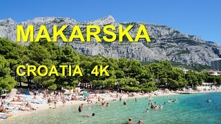 Makarska Croatia  city photo : Makarska Croatia (4K Ultra HD)