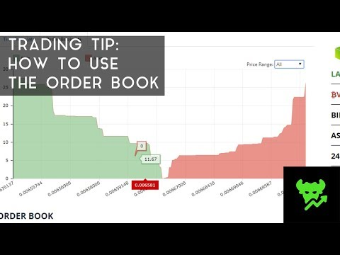 Trading Tip #7: How To Use The Order Book video