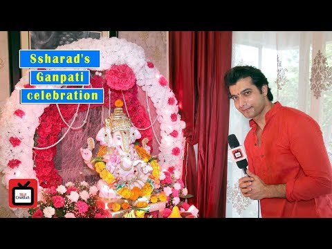 Ssharad Malhotra Ganpati Pujan in his abode  