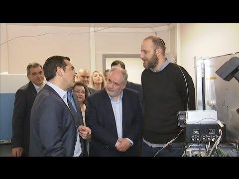 Επίσκεψη του πρωθυπουργού στον «Δημόκριτο»