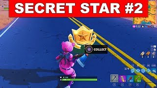 SECRET BATTLE STAR WEEK 2 SEASON 5 LOCATION! - Fortnite Battle Royale (Road Trip Challenges)