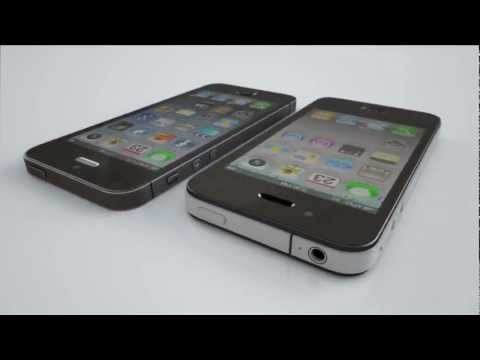 comparision - Apple iPhone 4 & rumored iPhone 5 all new body inspired from rumored leaked parts. A 3D Animation and Photorealistic rendering comparison. New Apple iPhone 5...
