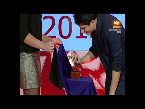 Magia a Jennifer Pareja (Gala premios AS)
