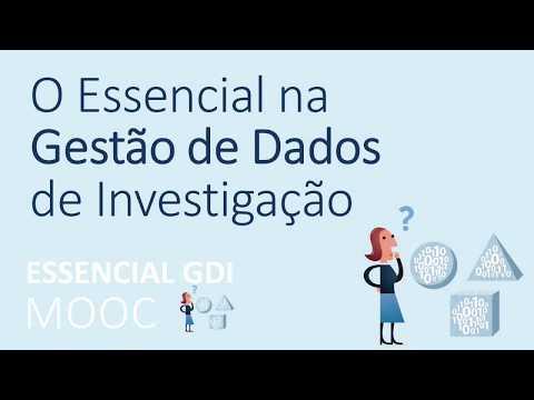 """MOOC """"O Essencial da Gestão de Dados de Investigação"""": curso disponível na plataforma NAU"""