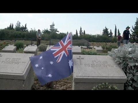 Τελετή μνήμης για τους πεσόντες στην Καλλίπολη