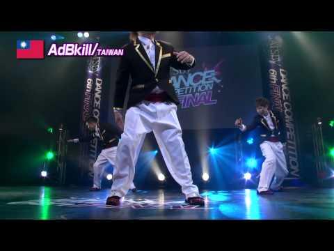 【GDC 6th】GATSBY DANCE COMPETITION 2013-2014:ASIA GRANDFINAL/AdBkill【TAIWAN】